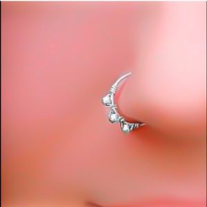 Indie Style Beaded Nose/Septum Ring Daith Hoop